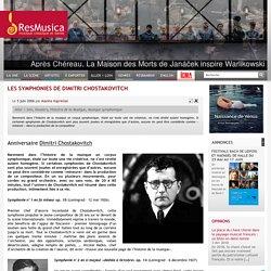 Les Symphonies de Dimitri Chostakovitch - resmusica.com