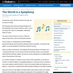 The World Is a Symphony - From the series: Sparks of Things to Come - Ethics & Morality