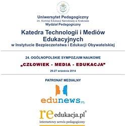 """Sympozjum """"Człowiek - media - edukacja"""" - pełne teksty referatów z kilku lat"""