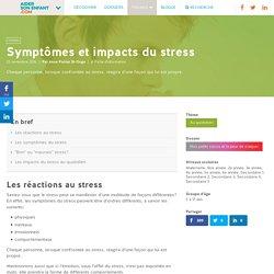 Symptômes et impacts du stress - Aider son enfant