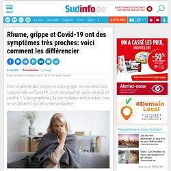 Rhume, grippe et Covid-19 ont des symptômes très proches: voici comment les différencier