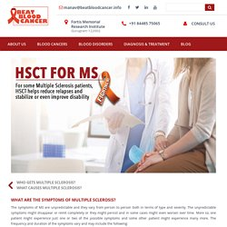 What are the Symptoms of Multiple Sclerosis