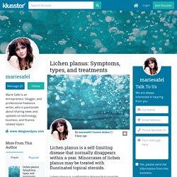 Lichen planus: Symptoms, types, and treatments