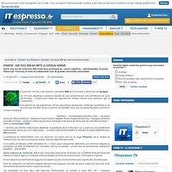 Synapse : une puce IBM qui imite le cerveau humain