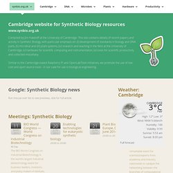 Synthetic Biology index