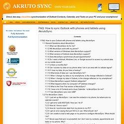 Akruto Sync