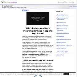 Coincidence is an Illusion - What is Synchronicity?