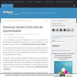 Owncloud : Version 2.0 du client de synchronisation par