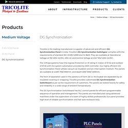 DG Synchronization Panel Switchboard Suppliers - Tricolite