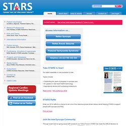 Home - STARS - Syncope Trust And Reflex anoxic Seizures, information and support