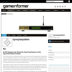 syncpasystem