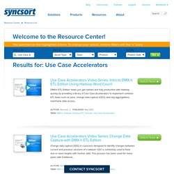 Syncsort - Resource Center