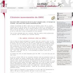 8) histoire mouvementée du SMIC