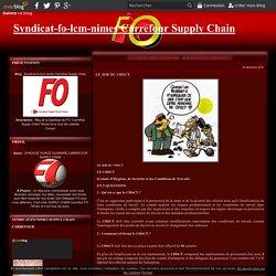 LE JOB DU CHSCT - Syndicat-fo-lcm-nimes Carrefour Supply Chain
