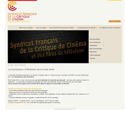 Syndicat Français de la Critique