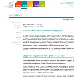 SNE - groupe universitaire