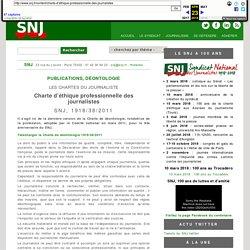 Premier syndicat français de journalistes
