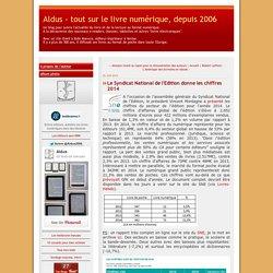 Le Syndicat National de l'Edition donne les chiffres 2014