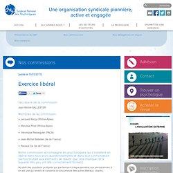 Syndicat National des Psychologues - Exercice libéral