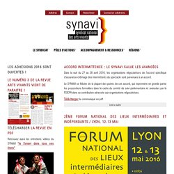 SYNAVI - Syndicat national des arts vivants
