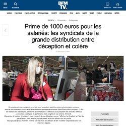Prime de 1000 euros pour les salariés: les syndicats de la grande distributio...