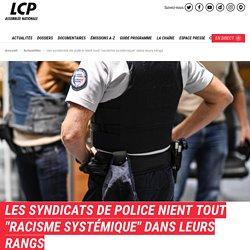 Les syndicats de police nient tout 'racisme systémique' dans leurs rangs