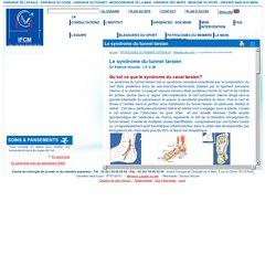 Le syndrome du tunnel tarsien - Clinique de la main, chirurgie de la main à l'épaule