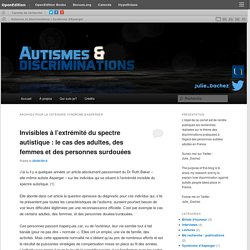 Autismes et discriminations