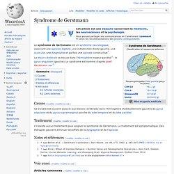 Syndrome de Gerstmann