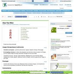 Xiao Yao Wan en cas de syndrome prémenstruel ou de migraine