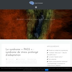 "Le syndrome ""PASS"" : syndrome de stress prolongé d'adaptation"