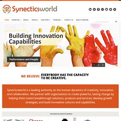 Synecticsworld | The Innovation Power Source