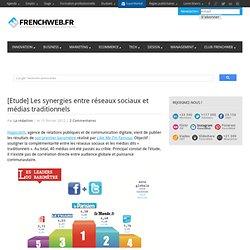 [Etude] Les synergies entre réseaux sociaux et médias traditionnels