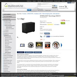 SYNOLOGY Synology DX213 / MULTICOM