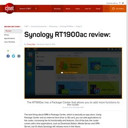 Synology RT1900ac review - Page 2
