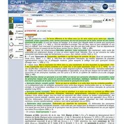 dictionnaire de synonyme larousse pdf