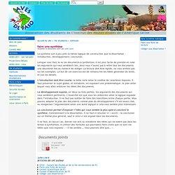 faire une synthèse - [Association des étudiants de l'Institut des Hautes études de l'Amérique latine]