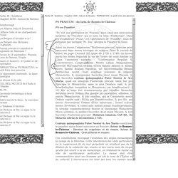 Partie IX - Synthèse Chapitre LVIII - Autour de Rennes PSPRAECUM : le petit frère des pieuvres