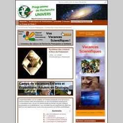 Synthèse des cristaux d'Alun de Potassium - UNIVERS
