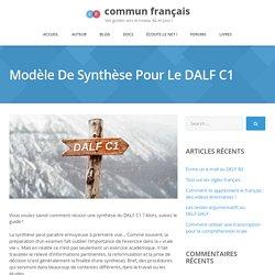 Synthèse DALF C1 : suivez le guide vers la réussite !