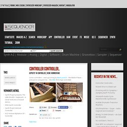 Drummachine & Synthesizer Database, News & Community: Sequencer Synth Drum Machines Music Media Computer Mac & Nerdic Walking