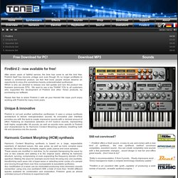 FireBird Synthesizer - The best VST Plugins & AU Instruments - Free Synth Download