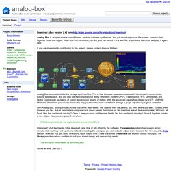 analog-box - Analog Box audio synthesizer / visual programming environment - Google Project Hosting
