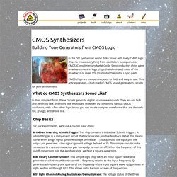 CMOS Synthesizers - Beavis Audio Research