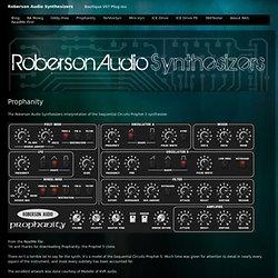 Roberson Audio » Prophanity