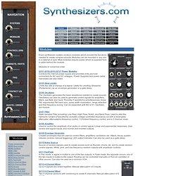 Modules - Modular Analog Synthesizer for Electronic Music