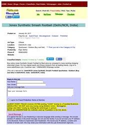 Jonex Synthetic SmashFootball Delhi/NCR Sportswear