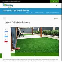 Synthetic Turf Installers Melbourne - Fake Grass Melbourne