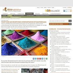 Peinture sans COV: fabrication, composition, toxicité et bonnes pratiques