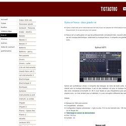 Les 2 Synthétiseur VST les plus utilisés pour la musique électronique - TICTACTOC